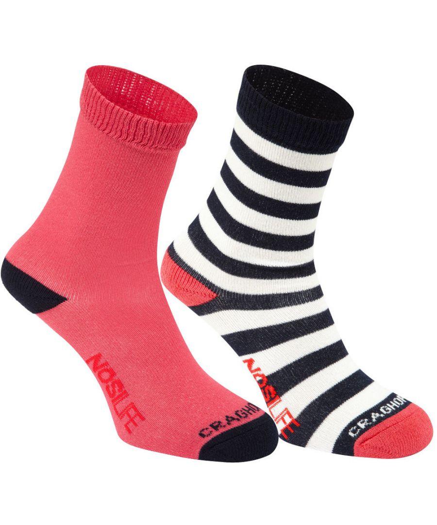 Image for Craghoppers Girls Nosi Life Lightweight Twin Walking Socks