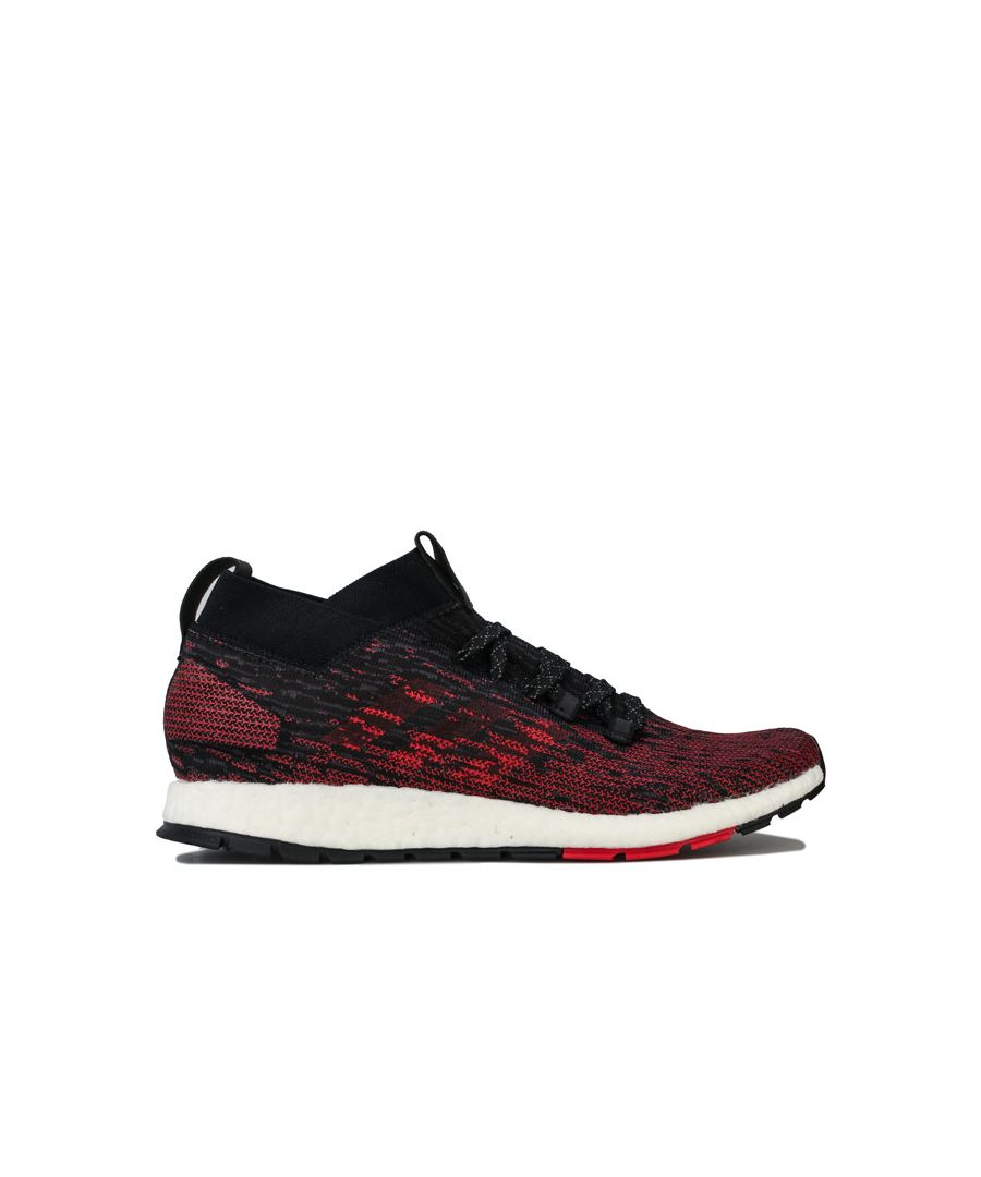 Image for Men's adidas Pureboost RBL Running Trainers in Black