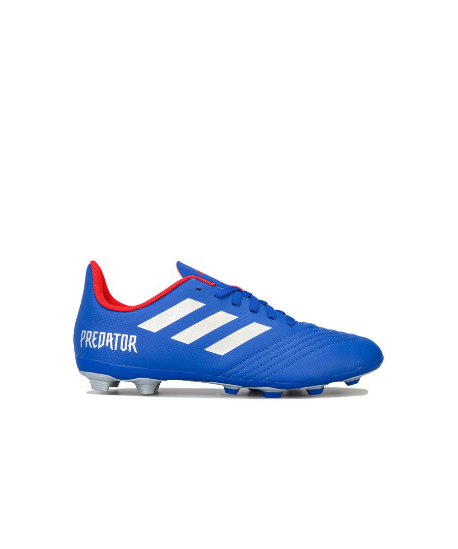 Image for Boy's adidas Children Predator 19.4 FxG Football Boots in Blue