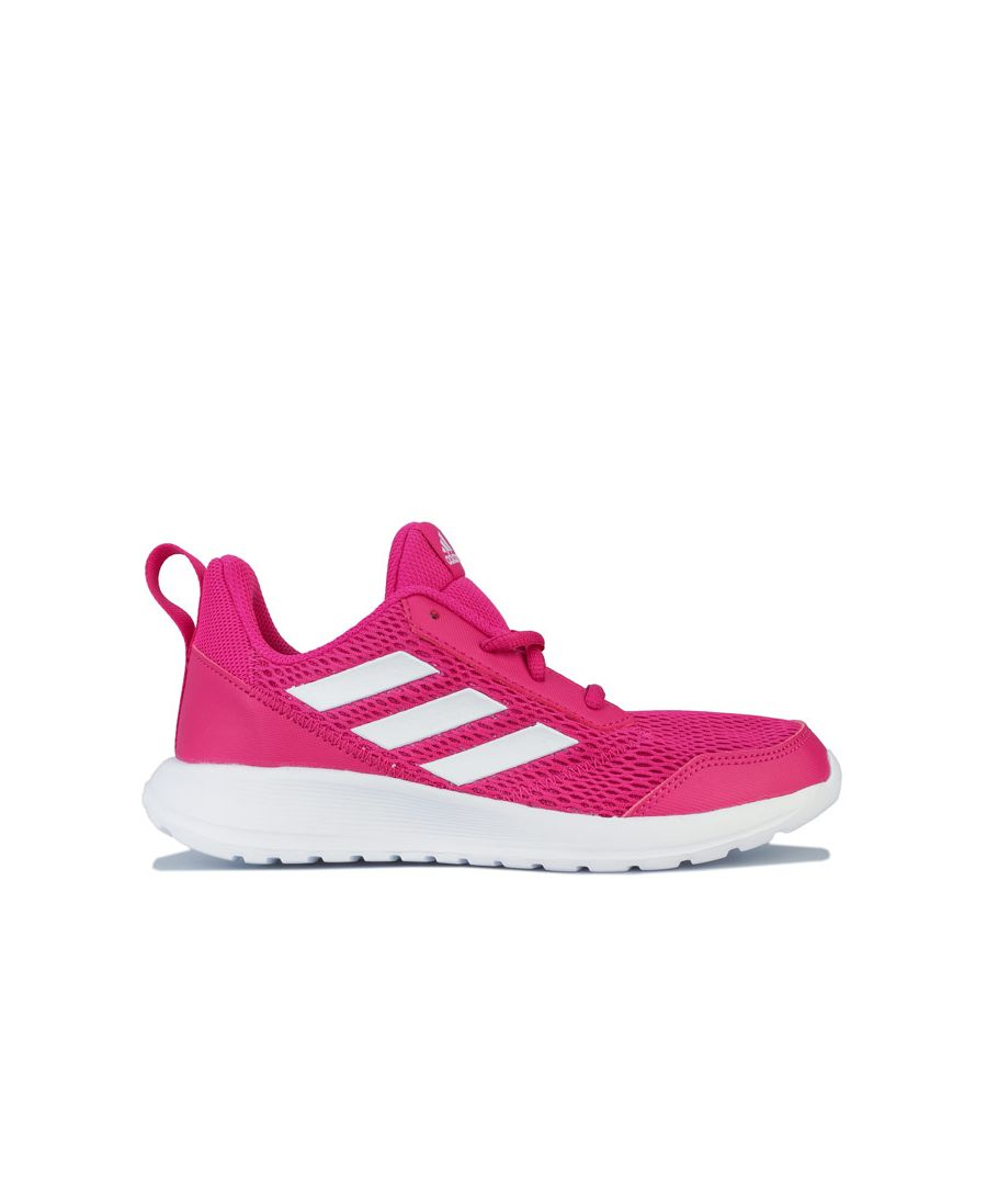 Image for Girl's adidas Junior AltaRun Trainers in Pink