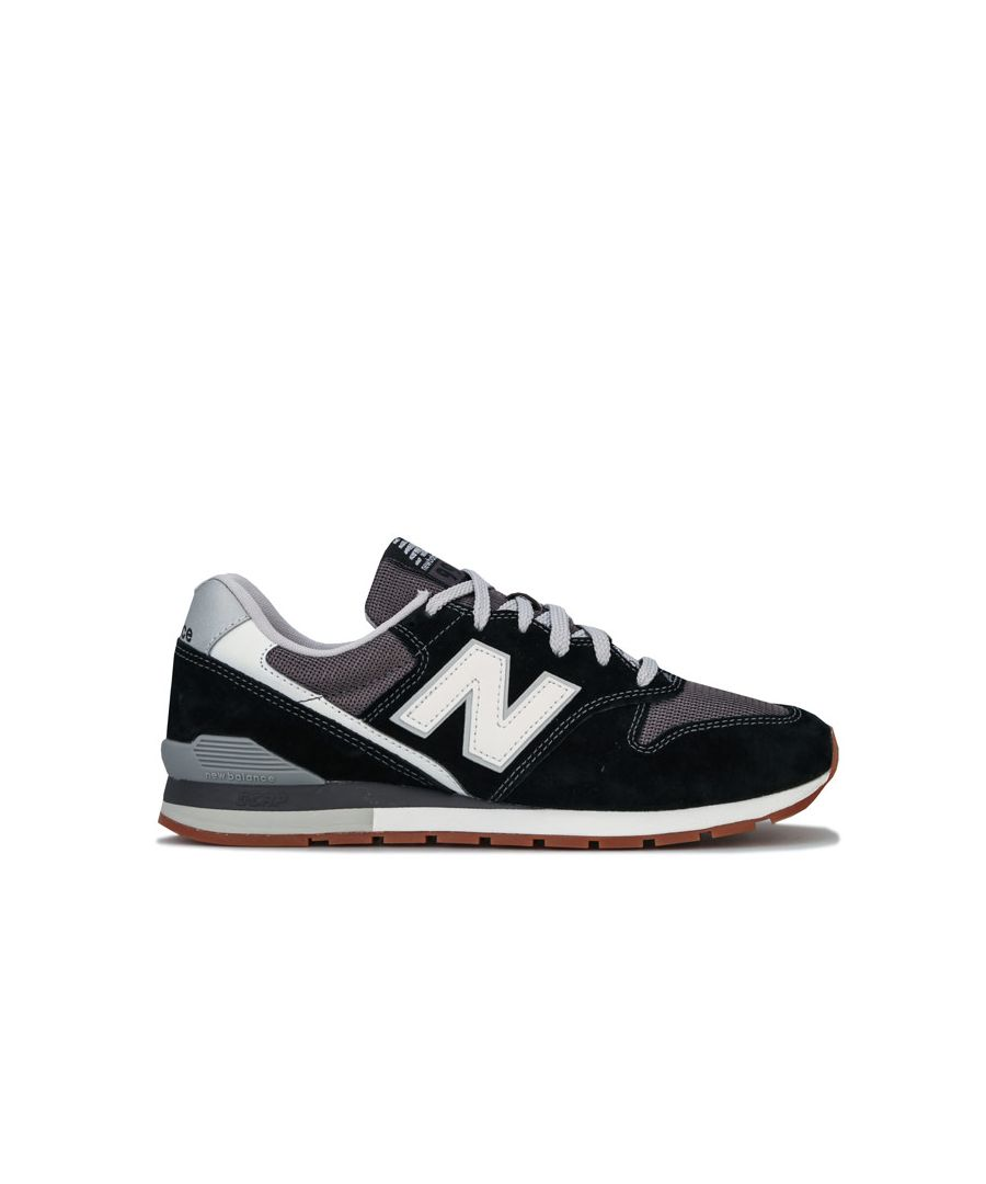 Image for Men's New Balance 996 Trainers in Black