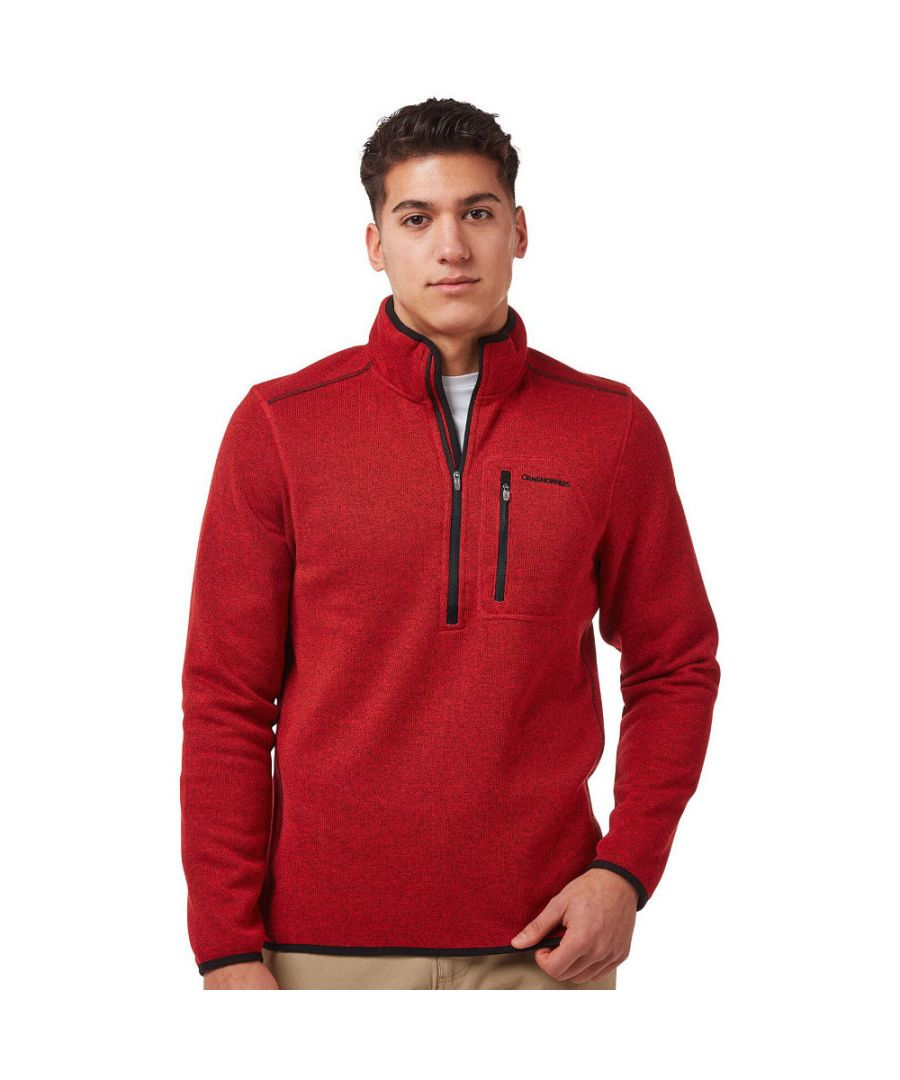 Image for Craghoppers Mens Etna Lightweight Half Zip Insulated Jacket