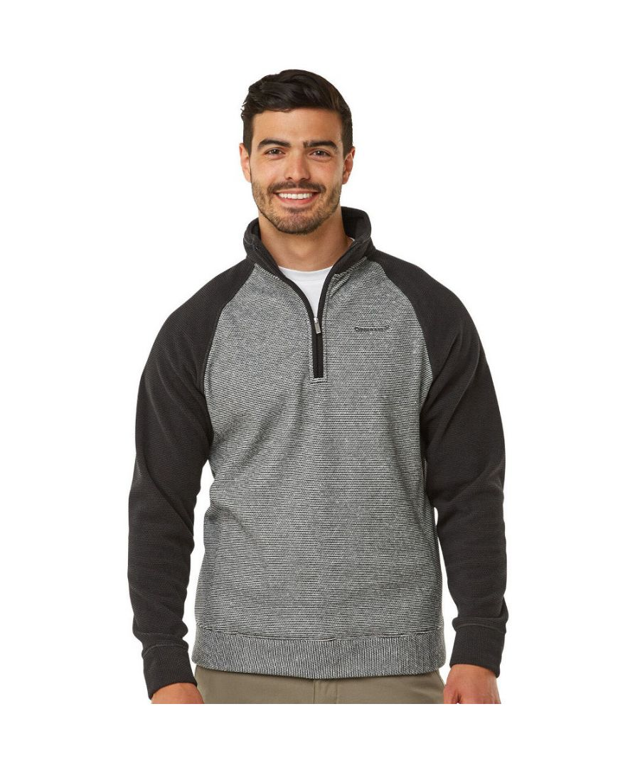 Image for Craghoppers Mens Leto Half Zip Insulated Fleece Jacket