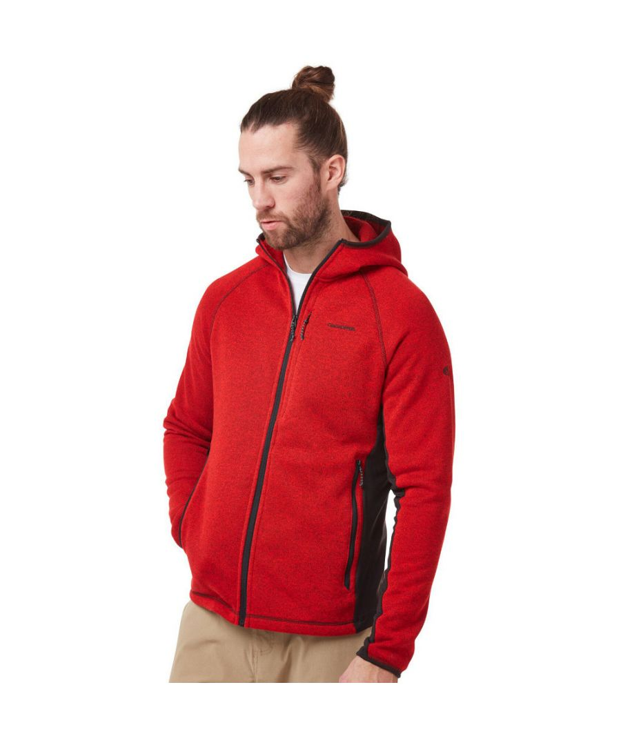 Image for Craghoppers Mens Apollo Full Zip Hooded Fleece Jacket