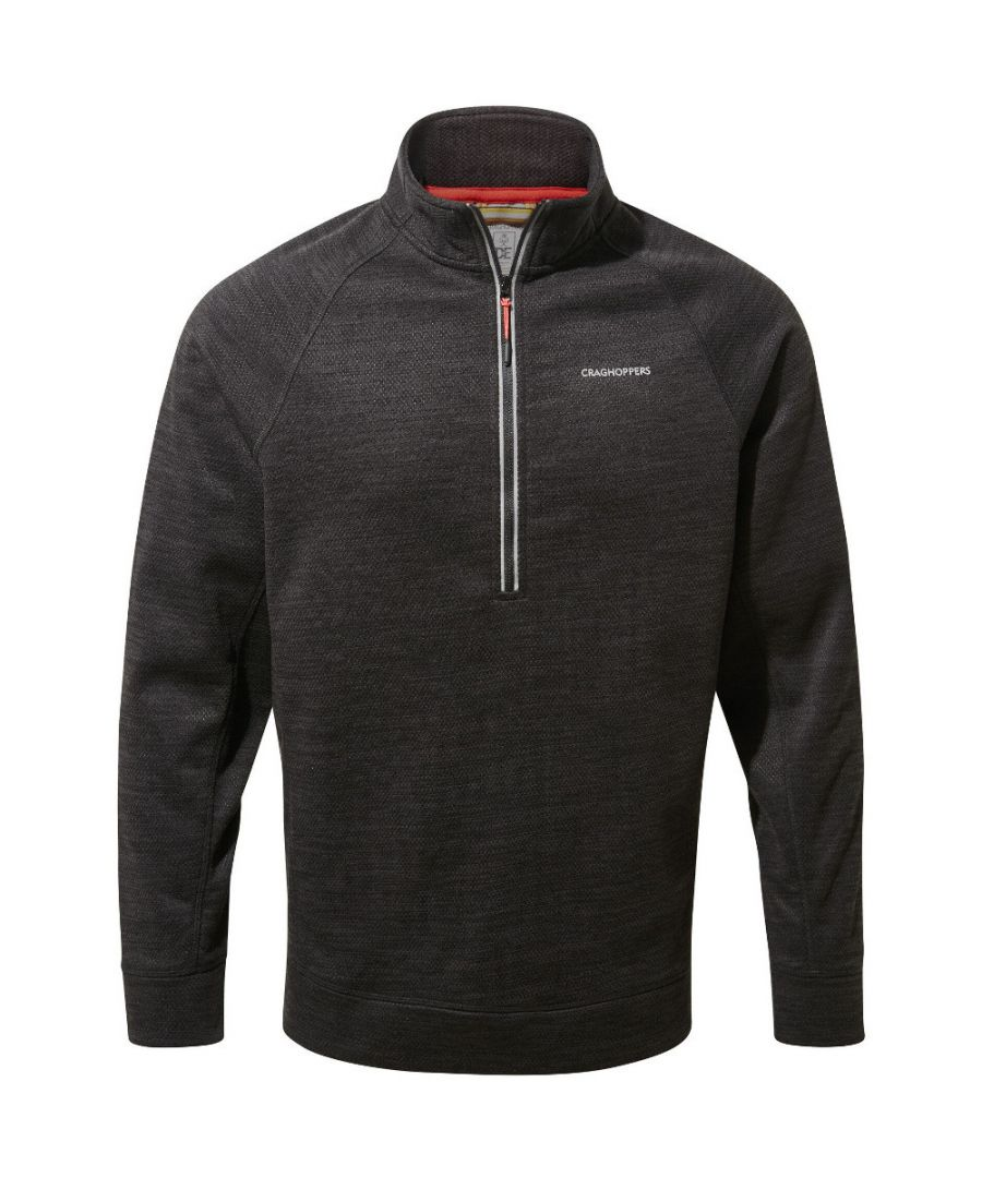Image for Craghoppers Mens Stromer Insulated Half Zip Fleece Jacket
