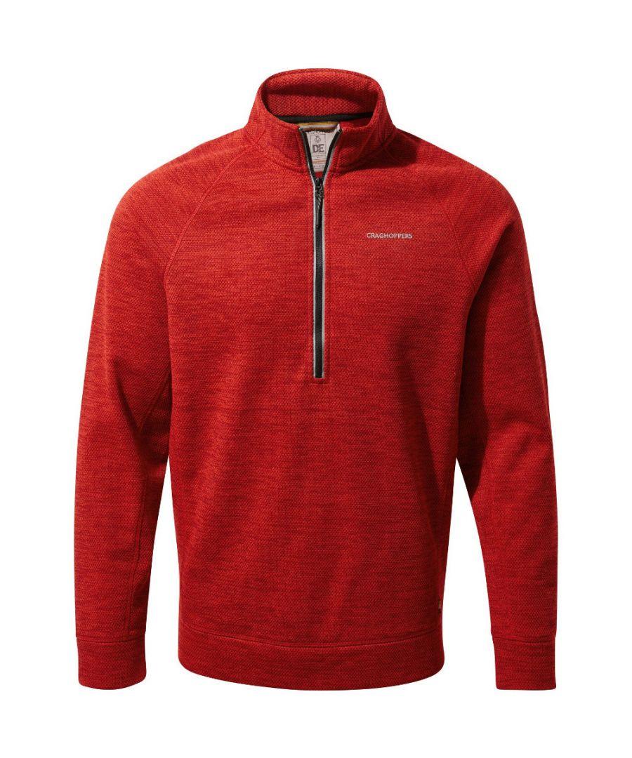 Image for Craghoppers Mens Stromer Insulated Half Zip Fleece Jacket
