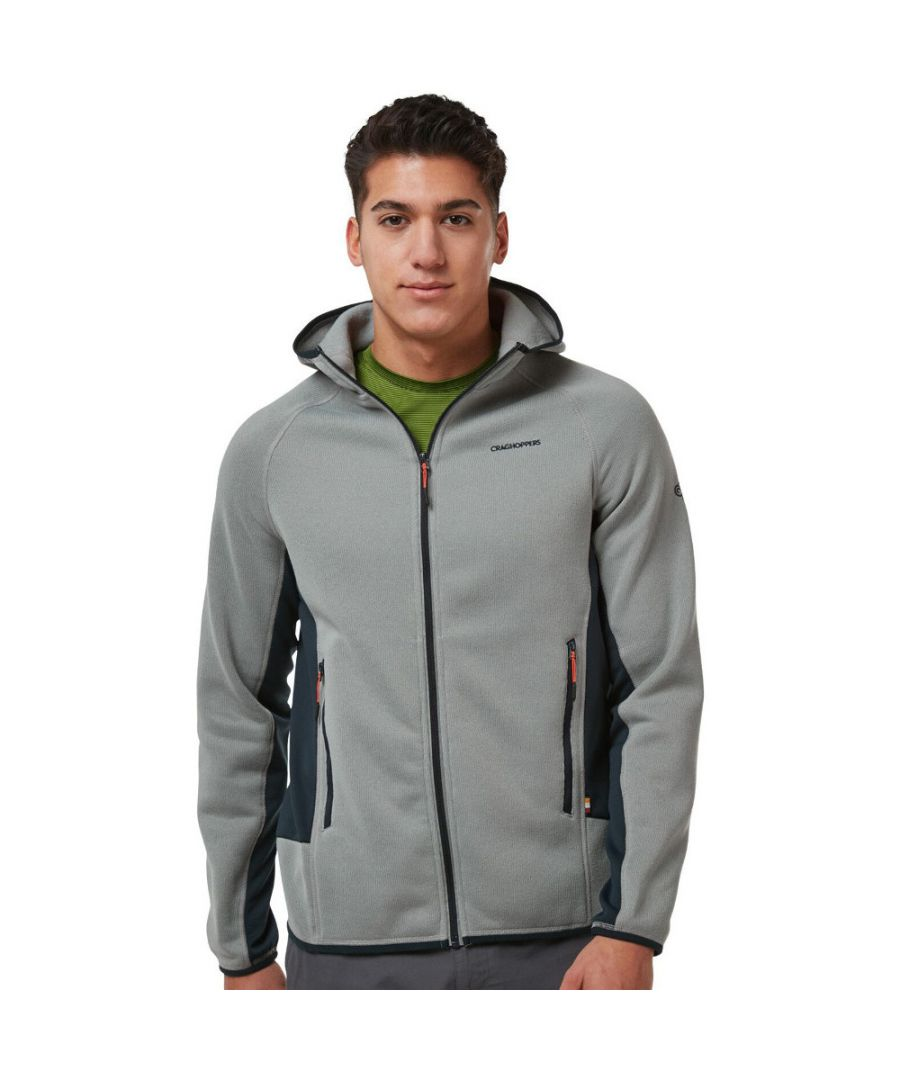 Image for Craghoppers Mens Mannix Hooded Full Zip Fleece Jacket