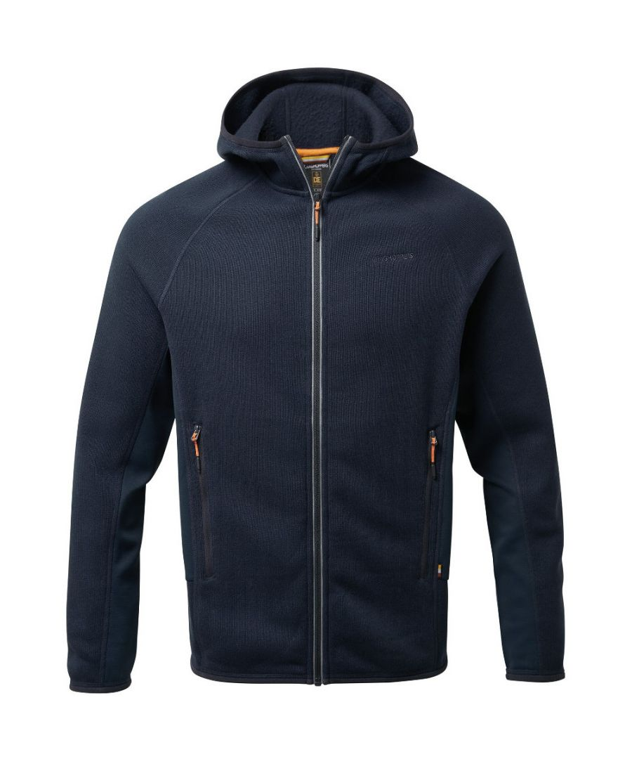 Image for Craghoppers Mens Mannix Hooded Full Zip Fleece Jacket