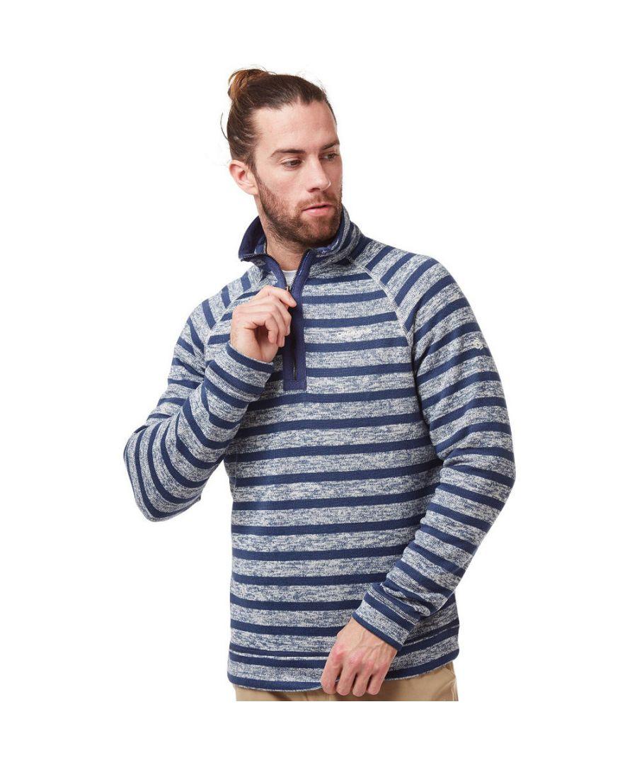 Image for Craghoppers Mens Fernando Insulated Half Zip Fleece Jacket