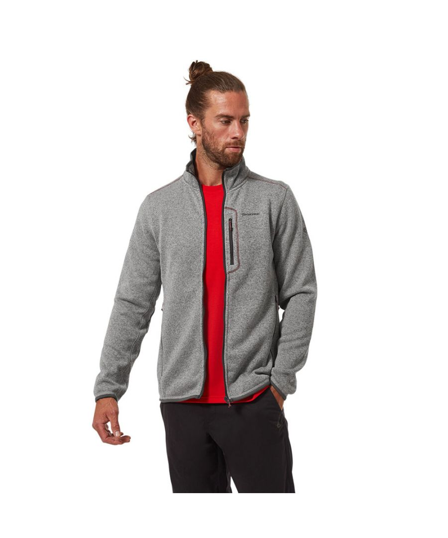Image for Craghoppers Mens Bronto Zip Pocket Fleece Jacket