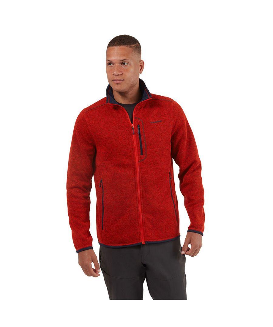 Image for Craghoppers Mens Bronto Zip Pocket Fleece Jacket