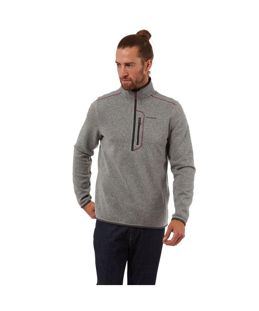 Image for Craghoppers Mens Bronto Half Zip Fleece Jacket