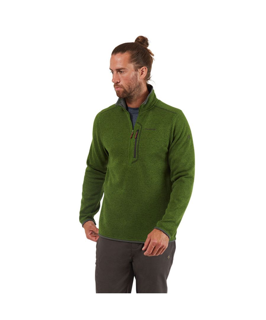 Image for Craghoppers Mens Bronto Half Zip Fleece Jacket