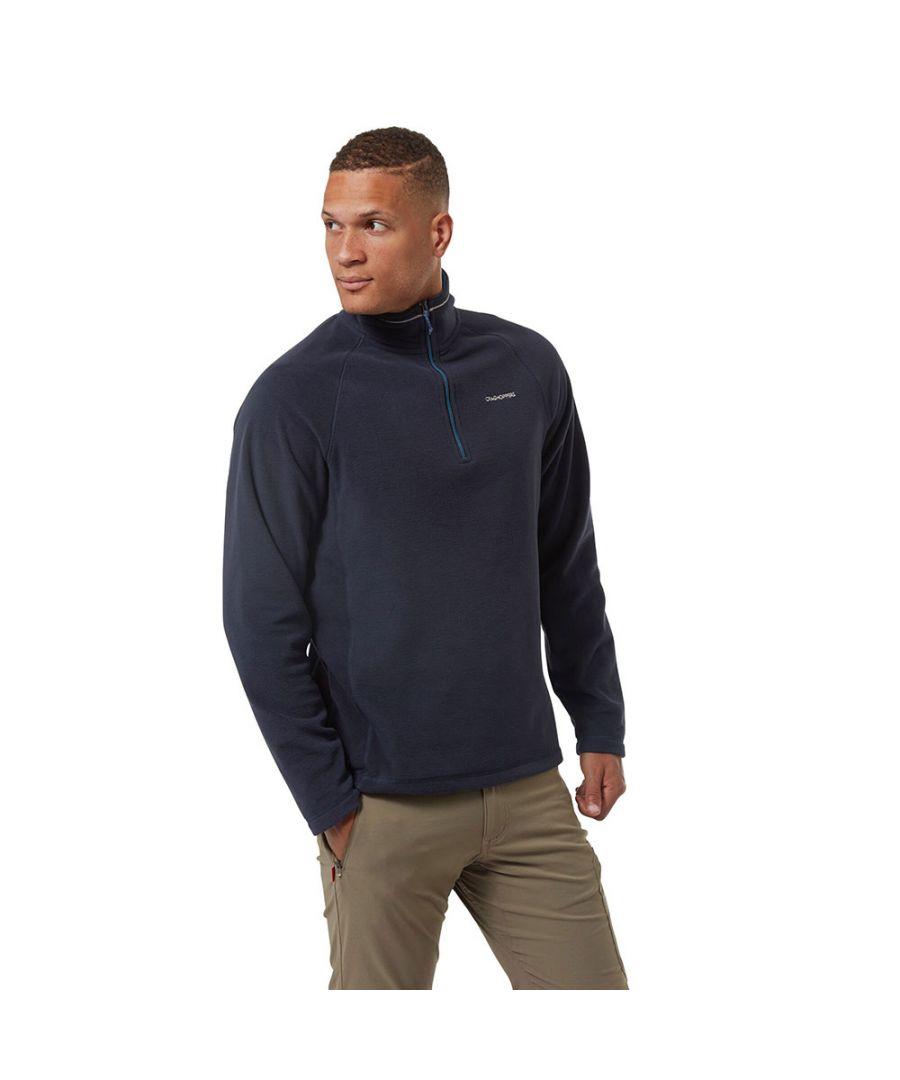 Image for Craghoppers Mens Corey Half Zip Mico Fleece Jacket