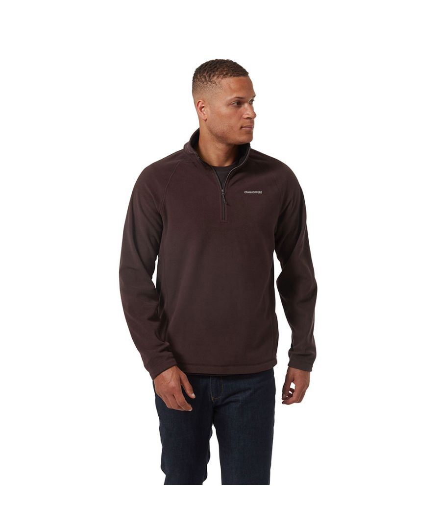 Image for Craghoppers Mens Corey Half Zip Mico Fleece Jacket