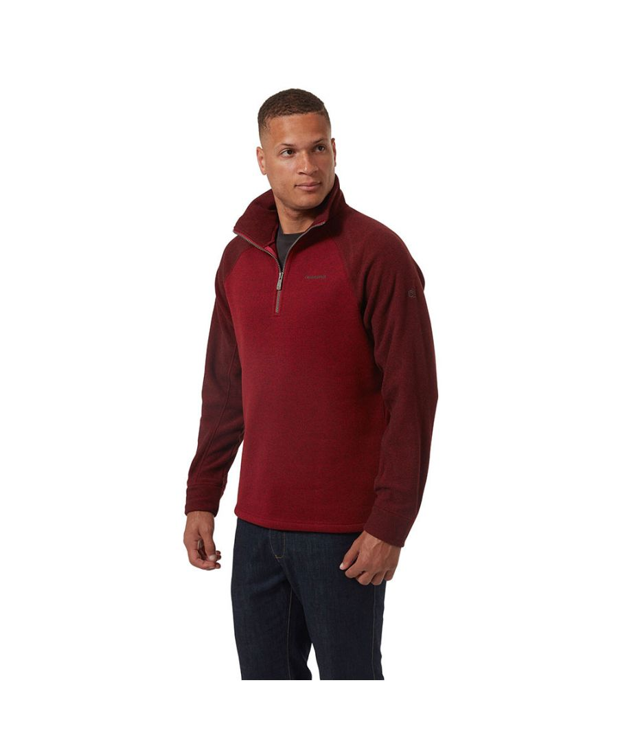 Image for Craghoppers Mens Barker Half Zip Fleece Jacket