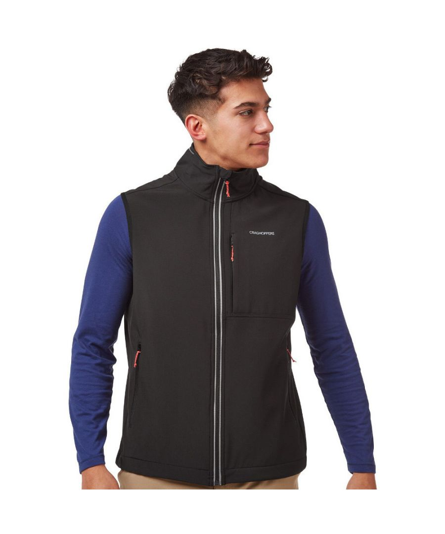 Image for Craghoppers Mens Altis Insulated Softshell Body Warmer Gilet