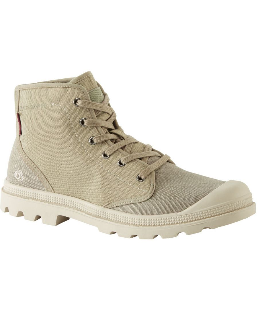 Image for Craghoppers Mens Mono Lightweight Laced Canvas Ankle Boots