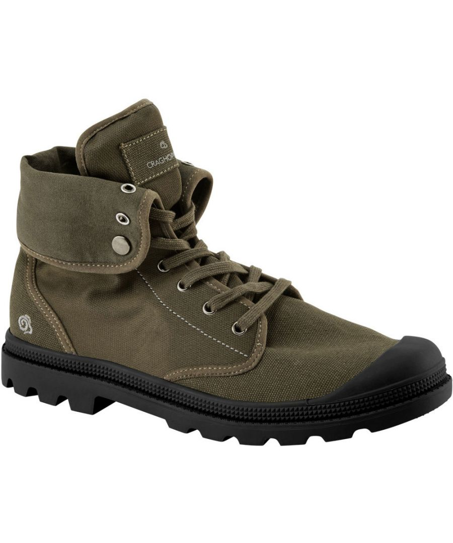 Image for Craghoppers Mens Mono Hi Cut Lightweight Desert Ankle Boots