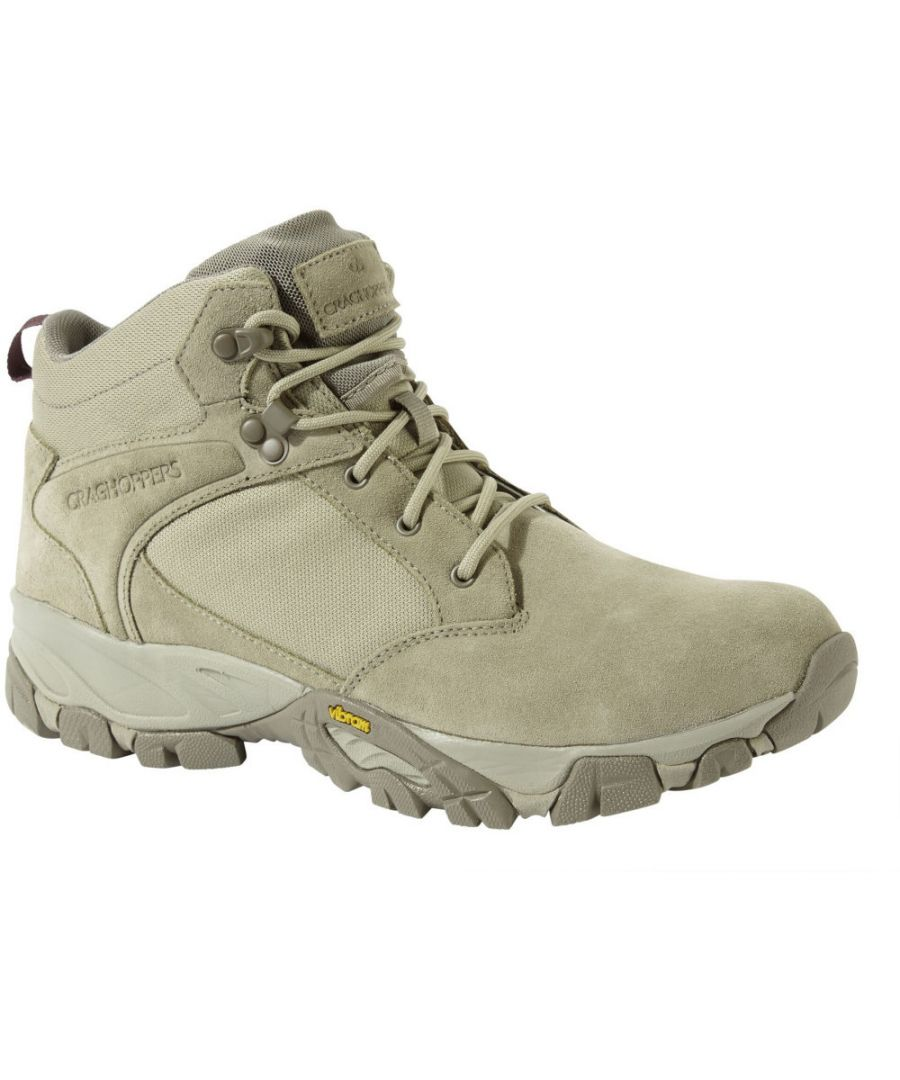 Image for Craghoppers Mens Salado Lightweight Desert Mid Walking Boots