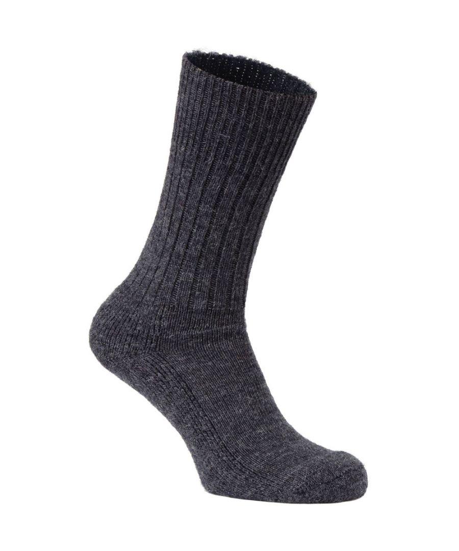 Image for Craghoppers Mens Explorer Wool Blend Wicking Padded Walking Socks