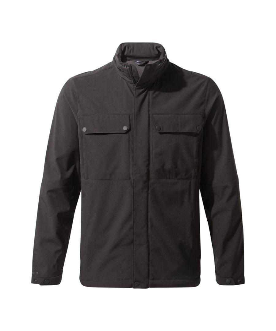 Image for Craghoppers Mens Dunham Smart Showerproof Softshell Jacket