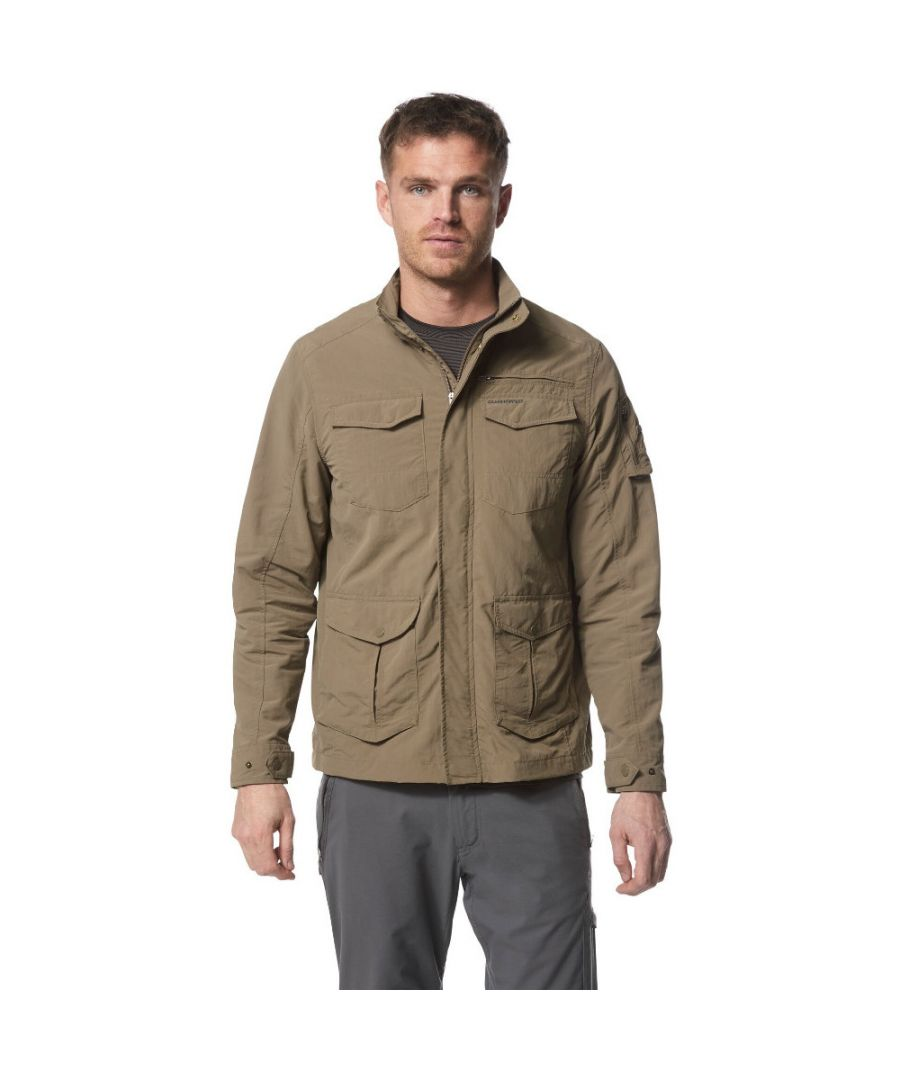 Image for Craghoppers Mens Nosi Life Adventure Travel Casual Jacket