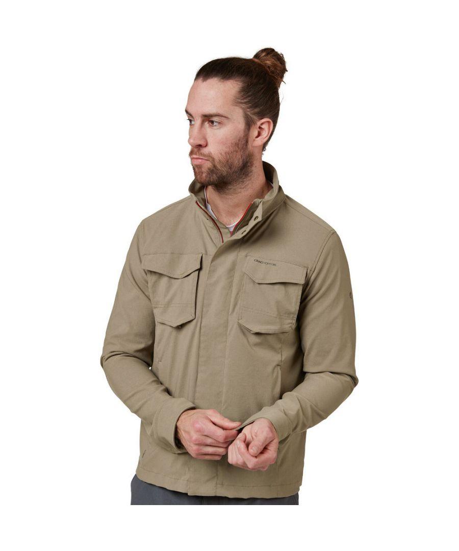 Image for Craghoppers Mens NosiLife Edmund Outdoor Adventure Jacket