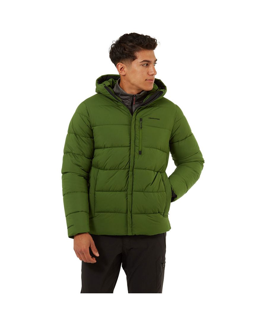 Image for Craghoppers Mens Norwood Thermal Insulated Hooded Jacket