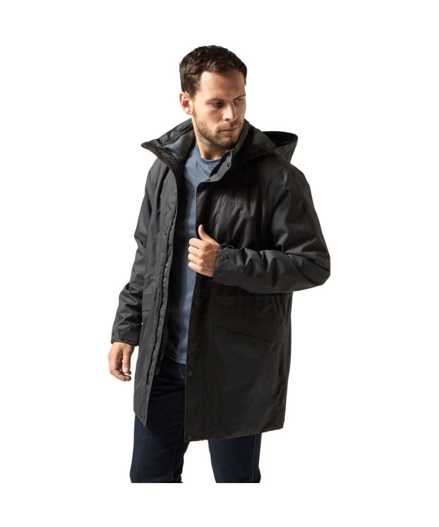 Image for Craghoppers Mens Herston Insulated Waterproof 3 in 1 Jacket