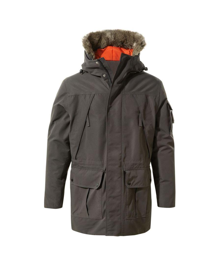 Image for Craghoppers Mens Bishorn Waterproof Breathable Parka Jacket