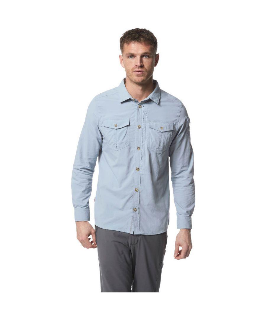 Image for Craghoppers Mens Nosi Life Adventure Light Long Sleeve Shirt