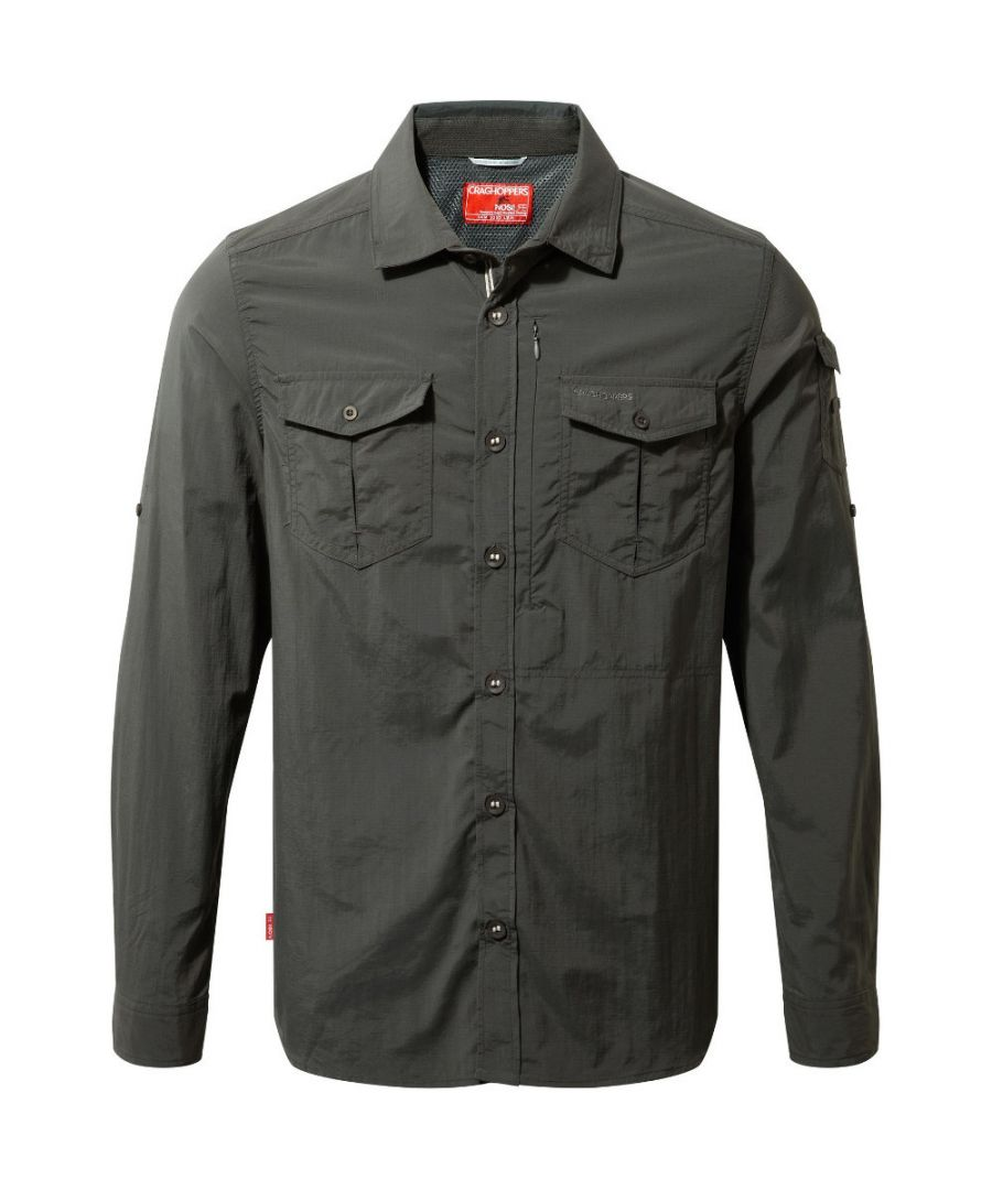 Image for Craghoppers Mens Nosi Life Adventure Long Sleeve Shirt
