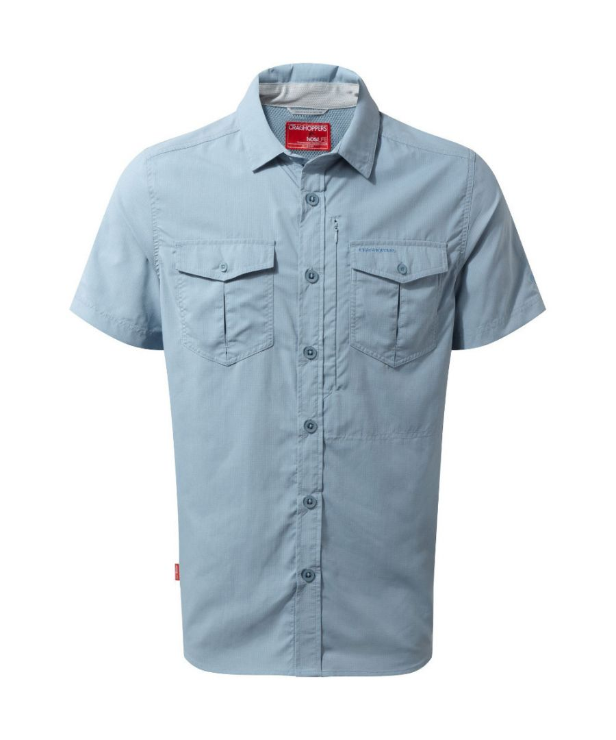 Image for Craghoppers Mens Nosi Life Adventure Short Sleeve T Shirt