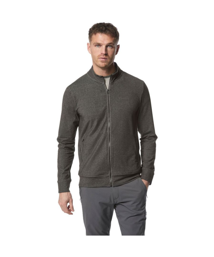 Image for Craghoppers Mens Nosi Life Alba Full Zip Casual Sweater