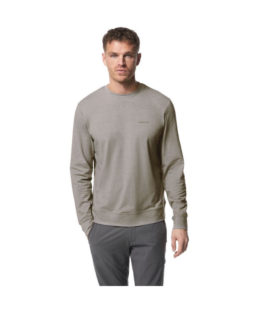Image for Craghoppers Mens Nosi Life Tilpa Solarsheild Crew Sweater