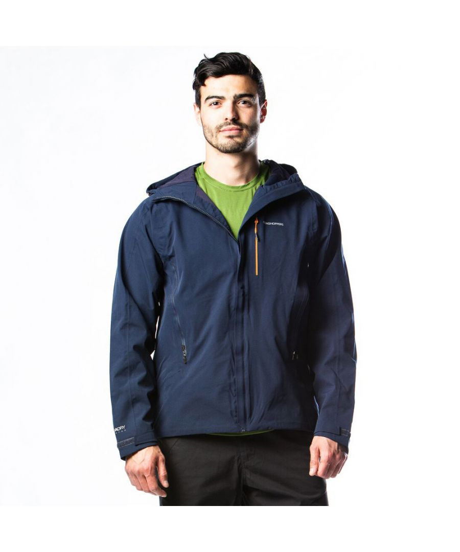 Image for Craghoppers Mens Explore Waterproof Breathable Hooded Jacket