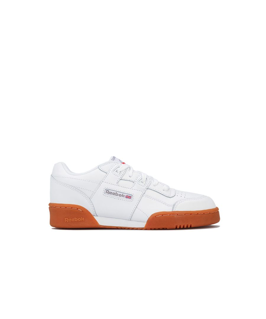 Image for Boy's Reebok Classics Junior Workout Plus Trainers in White