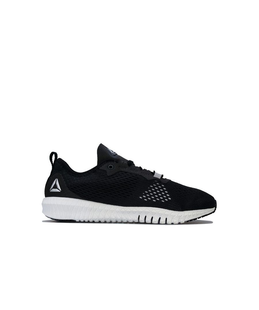 Image for Women's Reebok Flexagon Training Shoes in Black-White