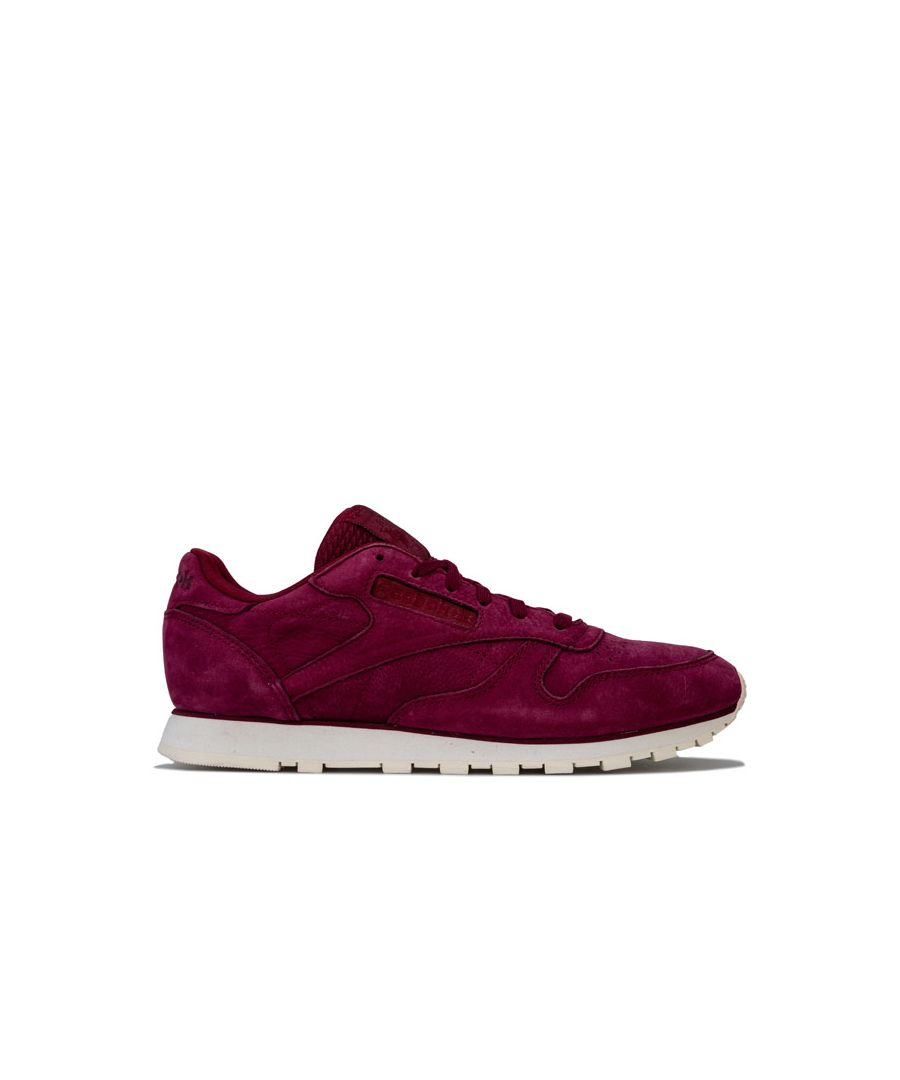 Image for Women's Reebok Classics Classic Leather Trainers in wine