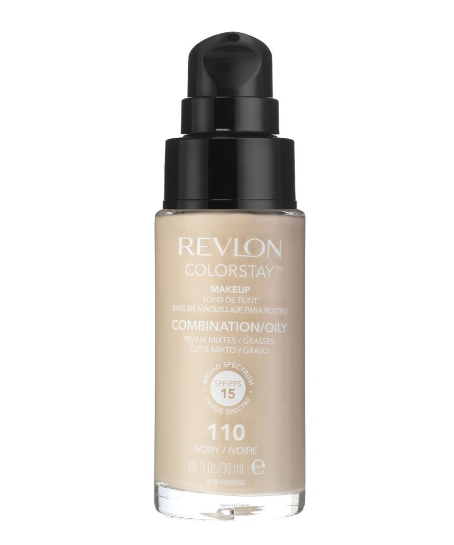 Image for Revlon Colorstay Pump 24HR Make Up SPF15 Comb/Oily Skin 30ml - Ivory