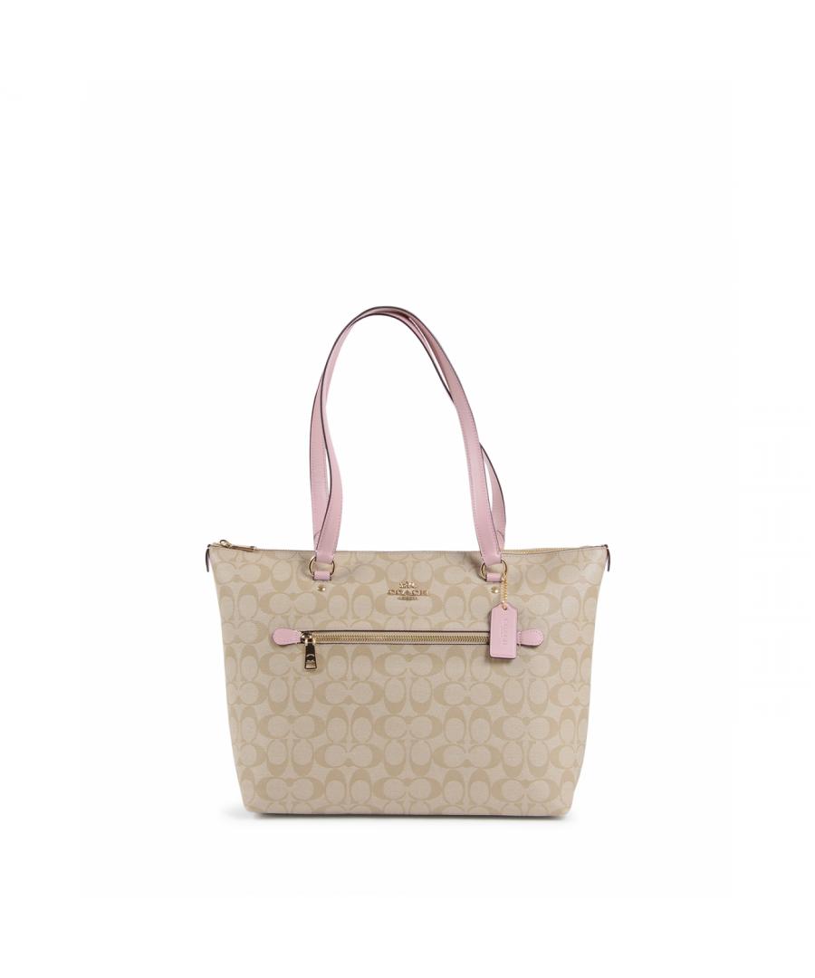 Image for Coach Womens Handbag Beige 79609 BLOSSOM