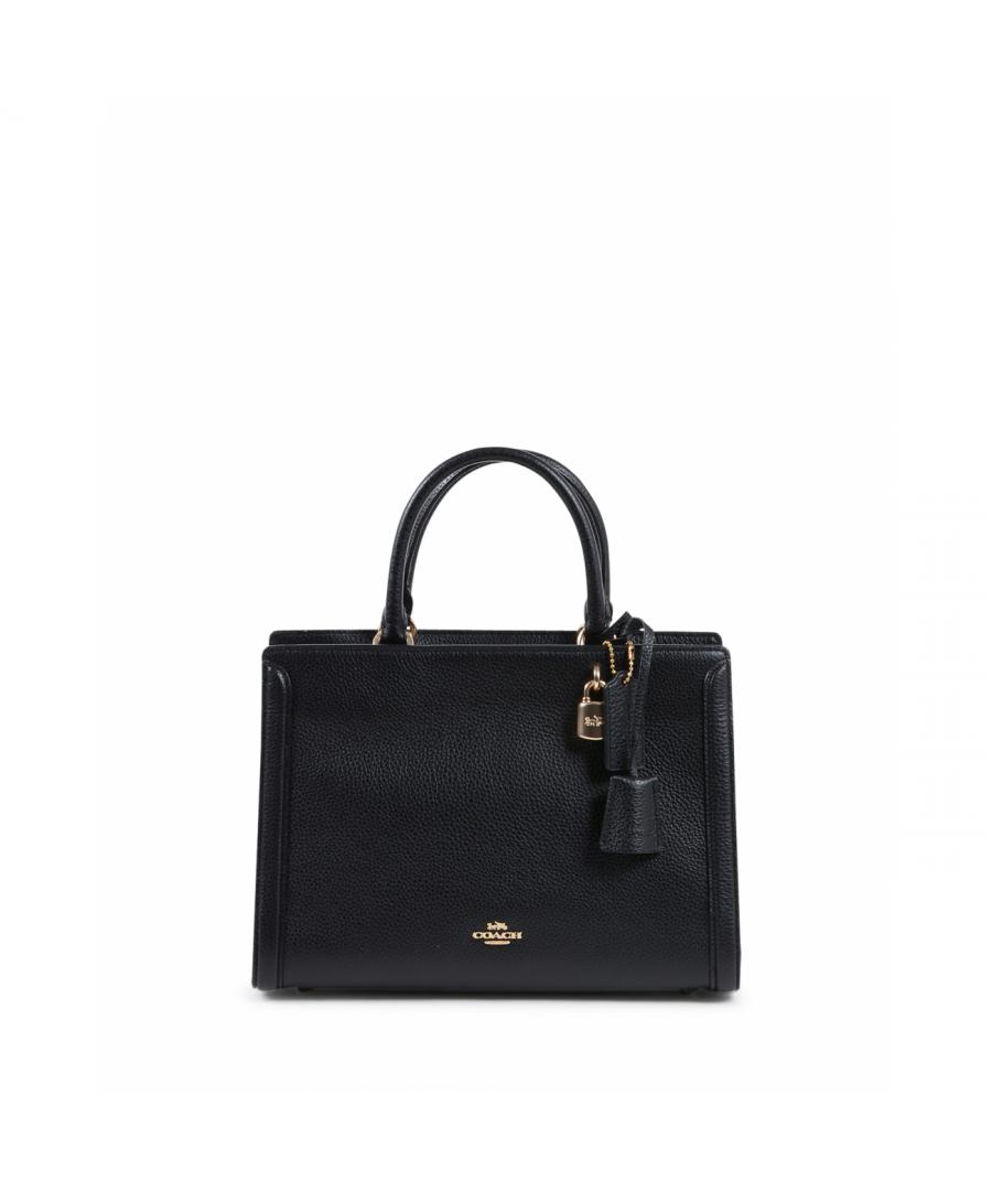 Image for Coach Womens Handbag Black F88037 BLACK