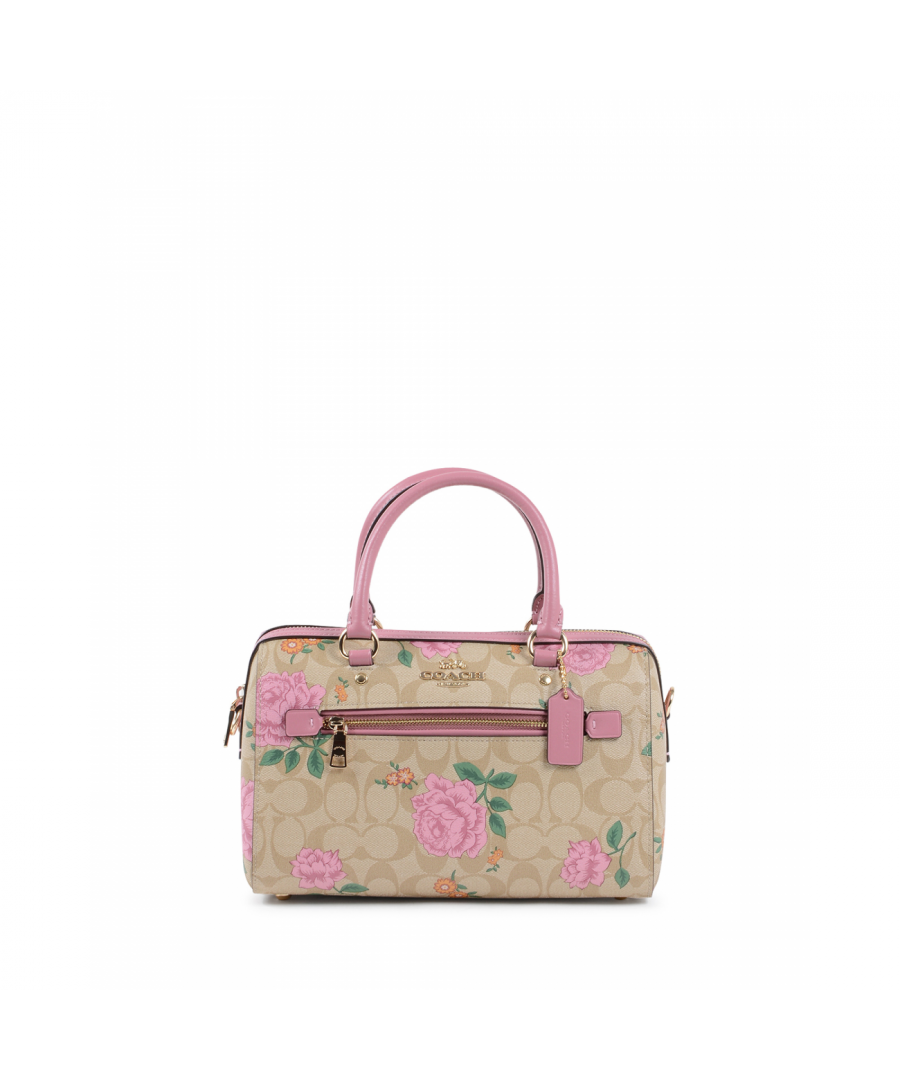 Image for Coach Womens Handbag Multicolor 2717 ROSE PRINT