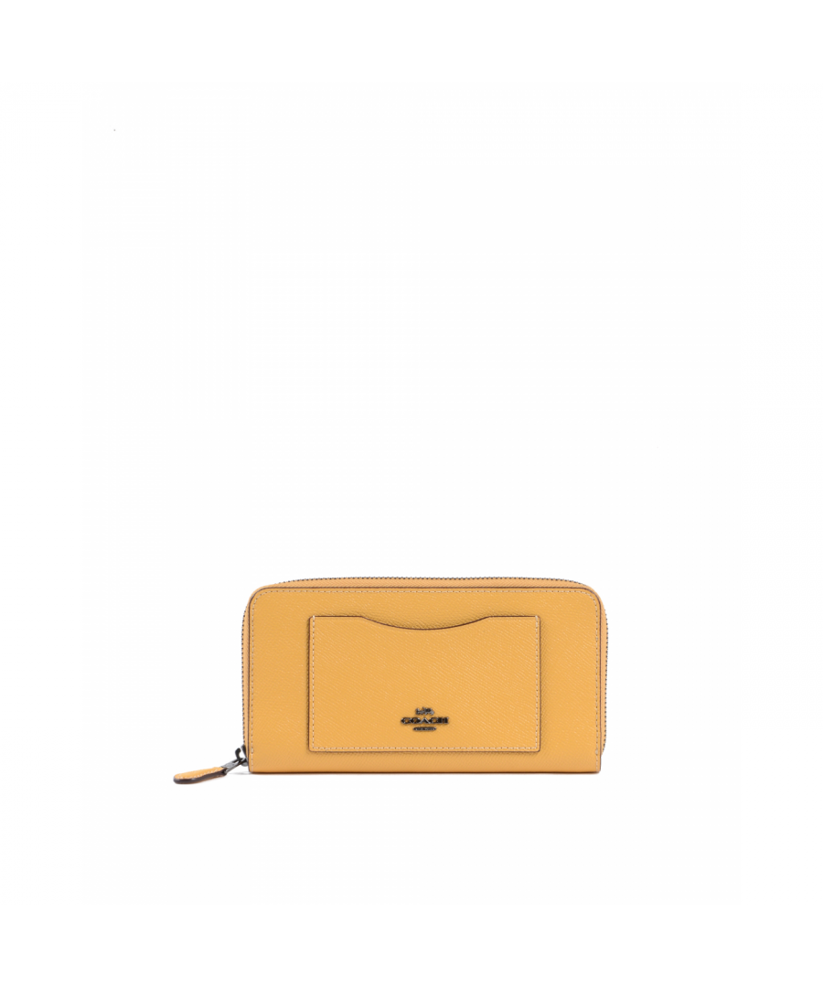 Image for Coach Womens Wallet Yellow 54007 HONEY