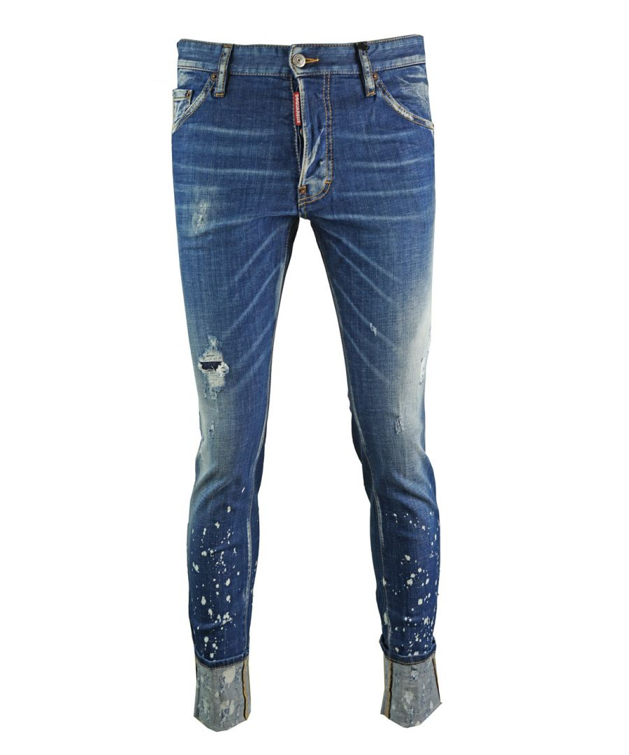 Image for Dsquared2 Distressed Cool Guy Cropped Jeans