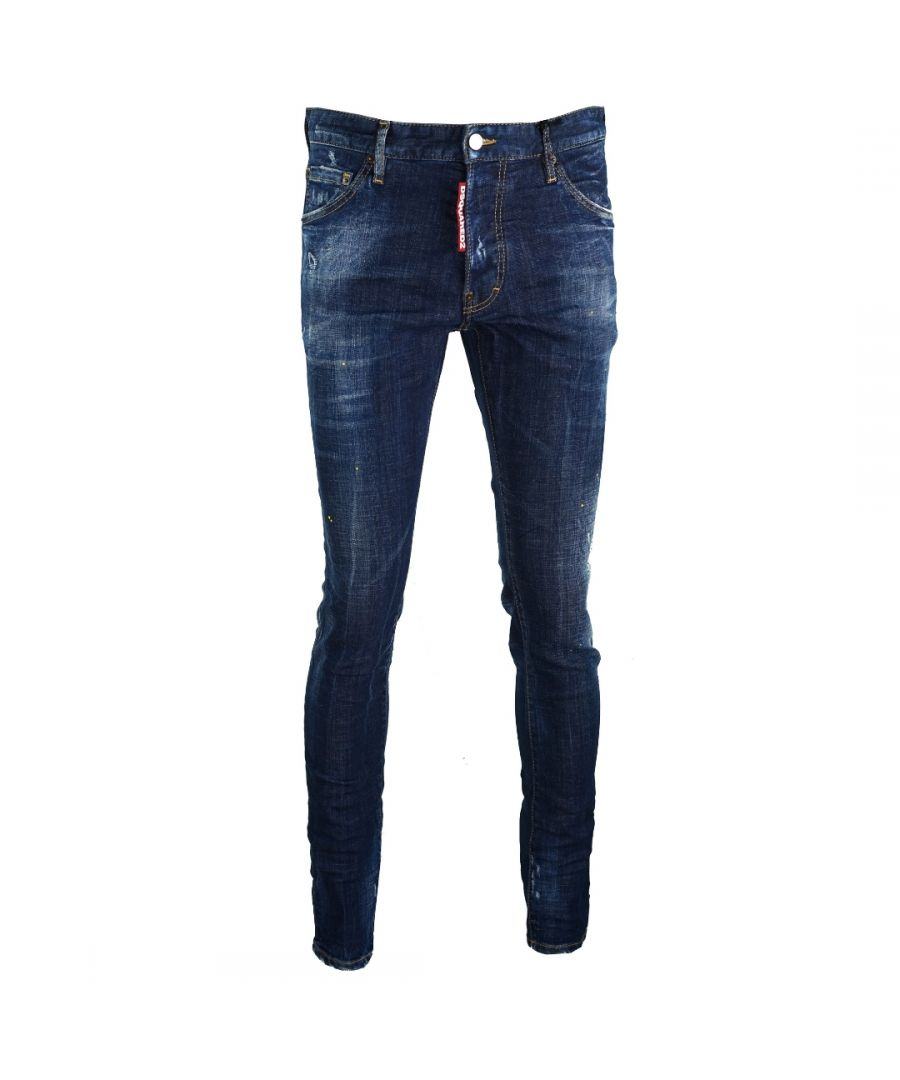 Image for Dsquared2 Cool Guy Jean DSQ Large Label Jeans