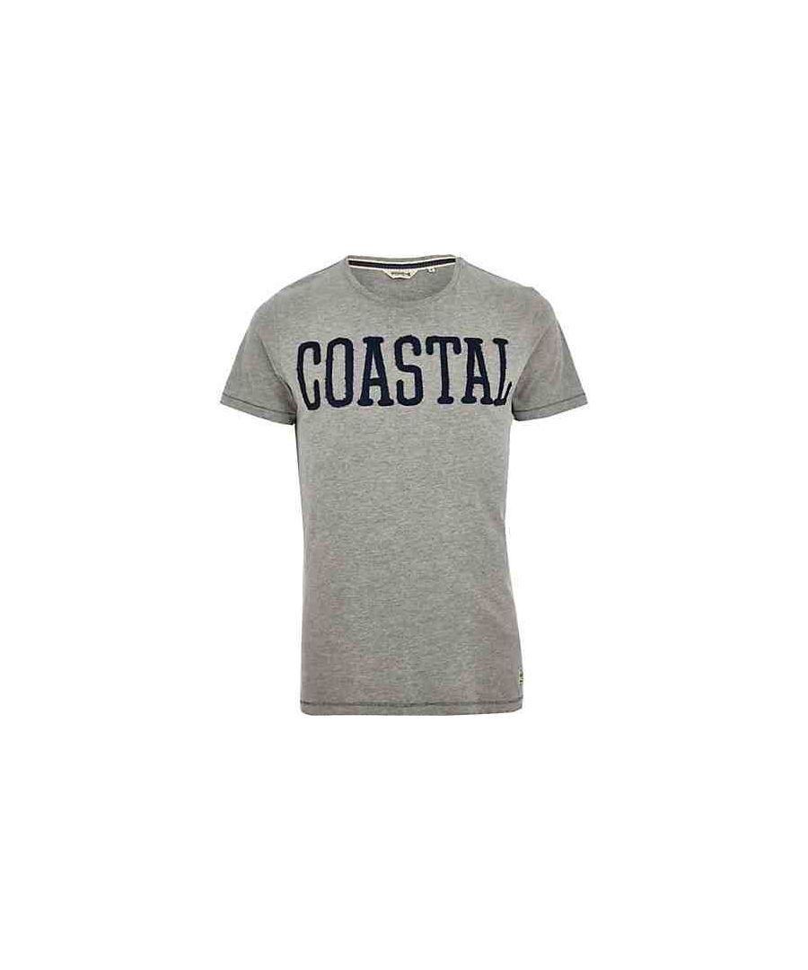 Image for Jack and Jones Costal Tee Light Grey T-Shirt