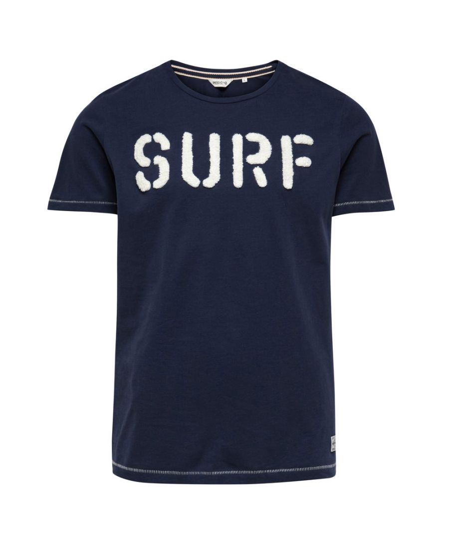 Image for Jack and Jones Costal Tee Navy Blue T-Shirt