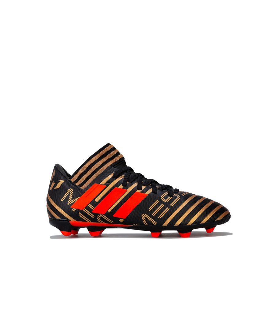 Image for Boy's adidas Junior Nemeziz Messi 17.3 FG Football Boots in Black
